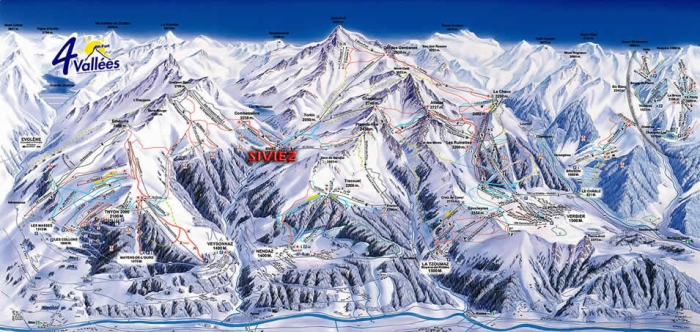 4 Valleys Ski Area